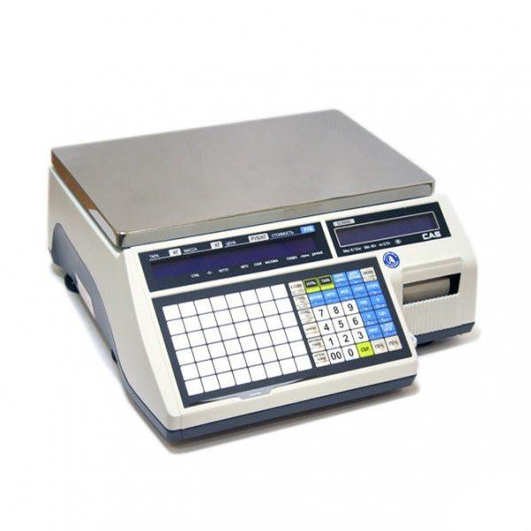 Весы с печатью этикеток CAS CL5000J-IB